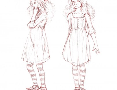 Alice illustration sketch