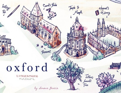 Oxford Map illustration