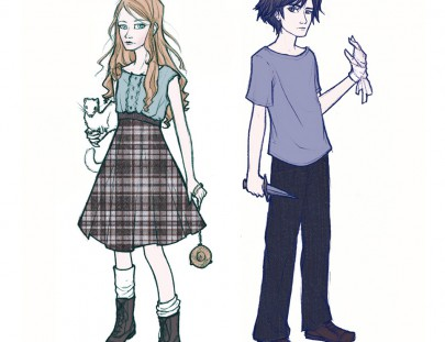 Will and Lyra character design